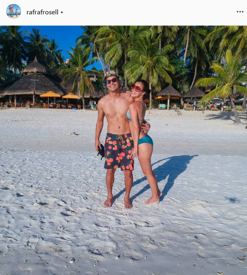 IN PHOTOS: Rafael Rosell with his loving girlfriend of 3 years